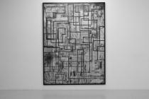 LELLO//ARNELL: <em>Journey </em>| 2011 | Chalk on blackboard | 200cm x 150cm