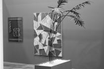 LELLO//ARNELL: <em>Growth Chart</em> | 2015 | Varnished steel, dolomite pebbles, MDF | 250cm x 120cm x 50cm