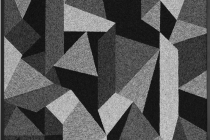LELLO//ARNELL: <em>The Okamura Fossil Laboratory: Specimen Journal, Entry no. 1</em><br/>2015 | Carpet on MDF, framed | 160cm x 120cm