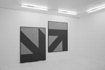 LELLO//ARNELL: <em>Waypoint</em> | 2014 | Carpet on MDF, Framed | 160cm x 120cm