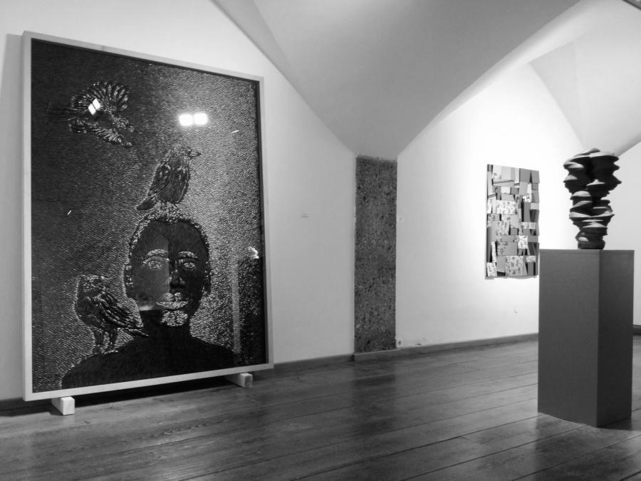 Installation view, Aîtres, Mario Mauroner, Salzburg