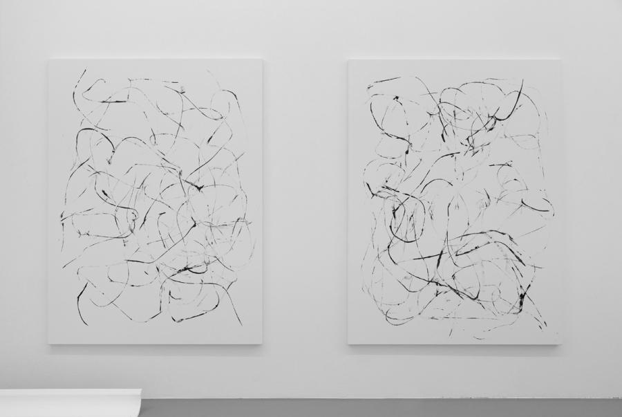 LELLO//ARNELL: <em>Anthropométrie</em> | 2013 | Acrylic on canvas | 200cm x 150cm each