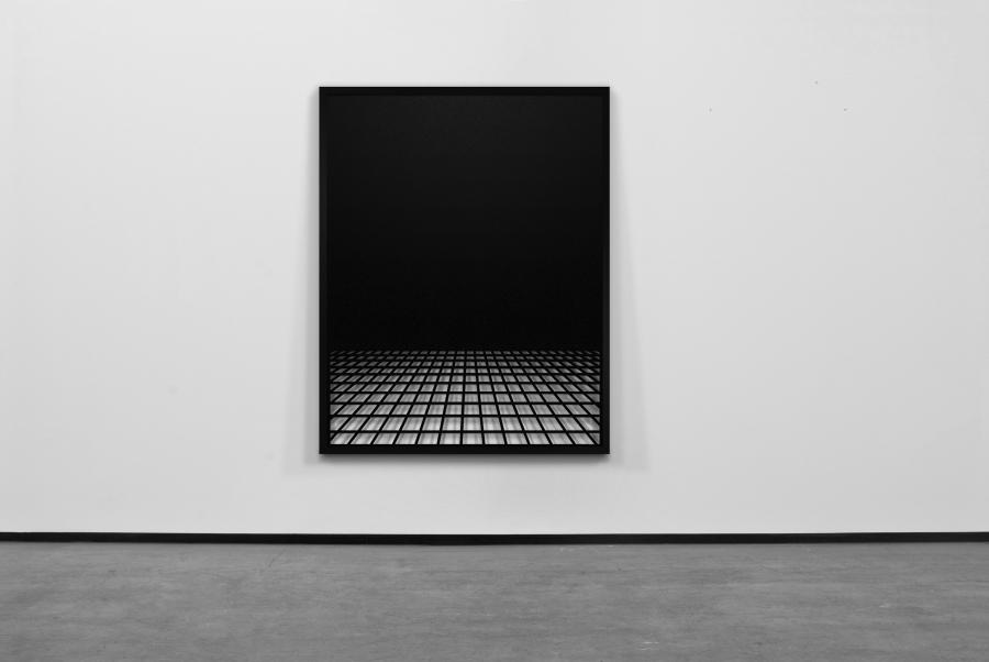 LELLO//ARNELL: Grid Variation #2 | 2010 | 160cm x 120cm | Perforated varnished steel