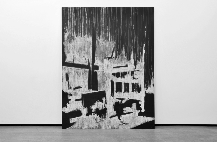 LELLO//ARNELL: <em>The Visual Manifesto: Burning the Modern</em><br/>2012, Chalk on blackboard, 240cm x 180cm