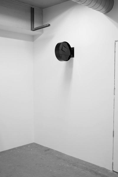 LELLO//ARNELL: <em>Portal</em> | 2015 | Varnished steel, black glass | 40cm x 50cm x 20cm