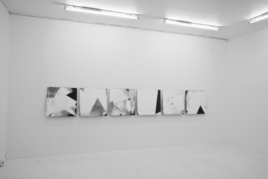 LELLO//ARNELL: <em>Parallel Self</em> | 2014 | Acrylic filler on Valchromat | 40cm x 40cm