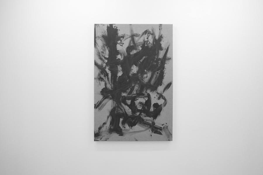 LELLO//ARNELL: <em>Anthropométrie (Dress shirt)</em> | 2013 | Acrylic on canvas | 120cm x 80cm